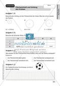 Mathe an Stationen - Inklusion: Flächeninhalt und Umfang des Kreises Preview 8