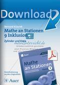 Mathe an Stationen - Inklusion: Zylinder und Kreis Preview 1