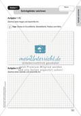 Mathe an Stationen - Inklusion: Zylinder und Kreis Preview 3