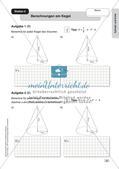 Mathe an Stationen - Inklusion: Zylinder und Kreis Preview 4