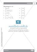 Mathematikunterricht auf dem Schulhof: Darstellen Preview 21