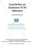 Geschichte an Stationen - Inklusion: Nationalsozialismus Preview 2