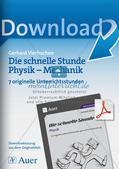 Die schnelle Stunde Physik: Mechanik Preview 1