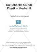 Die schnelle Stunde Physik: Mechanik Preview 2