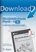 Die schnelle Stunde Physik: Optik Preview 1