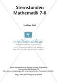 Sternstunden Mathematik: Leitidee Zahl Preview 2