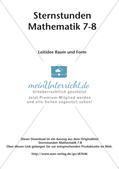 Sternstunden Mathematik: Leitidee Raum und Form Preview 2