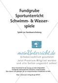 Schwimm- & Wasserspiele: Ausdauerschulung Preview 2