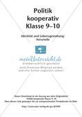 Politik kooperativ - Identität und Lebensgestaltung: Vorurteile Preview 2