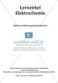 Lernzirkel Elektrochemie: Elektronenübertragungsreaktionen Preview 2