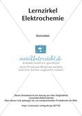 Lernzirkel Elektrochemie: Korrosion Preview 2