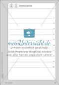 Portfolio im Mathematikunterricht - Blankovorlage Preview 12