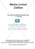 Portfolio im Mathematikunterricht - Meine ersten Zahlen Preview 2