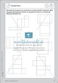 Portfolio im Mathematikunterricht - Flächen- und Körperformen Preview 10