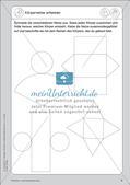 Portfolio im Mathematikunterricht - Flächen- und Körperformen Preview 11