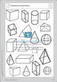 Portfolio im Mathematikunterricht - Flächen- und Körperformen Preview 14