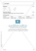 Portfolio im Mathematikunterricht - Flächen- und Körperformen Preview 16