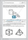 Portfolio im Mathematikunterricht - Flächen- und Körperformen Preview 6