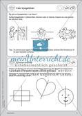 Portfolio im Mathematikunterricht - Symmetrie Preview 3