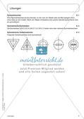 Portfolio im Mathematikunterricht - Symmetrie Preview 9