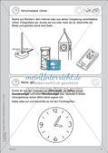 Portfolio im Mathematikunterricht - Die Uhr Preview 3