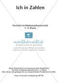 Portfolio im Mathematikunterricht - Ich in Zahlen Preview 2