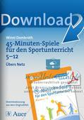 45-Minuten-Spiele für den Sportunterricht: Übers Netz Preview 1
