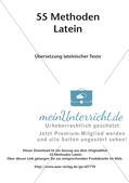 Methoden - Übersetzung lateinischer Texte Preview 2