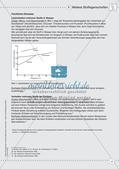 Stoffe und ihre Eigenschaften: Löslichkeiten, Verhalten bei Erhitzen, Dichte Preview 6