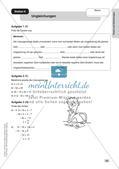 Mathe an Stationen: Terme und Gleichungen Preview 12
