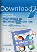 Mathe an Stationen: Terme und Gleichungen Preview 1
