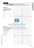 Mathe an Stationen: Lineare Funktionen Preview 10
