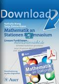 Mathe an Stationen: Lineare Funktionen Preview 1
