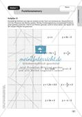 Mathe an Stationen: Lineare Funktionen Preview 5