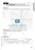 Mathe an Stationen: Lineare Funktionen Preview 9