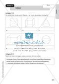 Mathe an Stationen: Prismen Preview 11