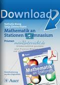 Mathe an Stationen: Prismen Preview 1