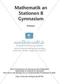 Mathe an Stationen: Prismen Preview 2