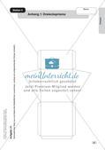 Mathe an Stationen: Prismen Preview 7