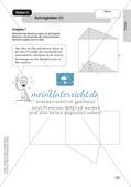 Mathe an Stationen: Prismen Preview 9