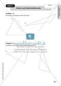 Mathe an Stationen: Punkte und Linien im Dreieck Preview 11