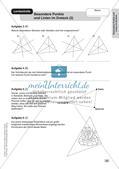 Mathe an Stationen: Punkte und Linien im Dreieck Preview 15