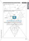 Mathe an Stationen: Punkte und Linien im Dreieck Preview 19