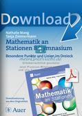 Mathe an Stationen: Punkte und Linien im Dreieck Preview 1