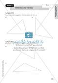 Mathe an Stationen: Punkte und Linien im Dreieck Preview 5