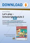 Vokabelspiele - Schwierigkeitsstufe 2 Preview 1