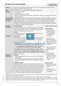Unterrichtseinheit zu Körperwahrnehmung und Bewegung Preview 11