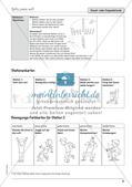 Unterrichtseinheit zu Körperwahrnehmung und Bewegung Preview 23