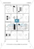 Mathe-Dominos Geometrie: Geometrische Grundformen (differenziert) Preview 8