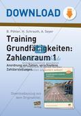 Training Grundfähigkeiten: Zahlenraum 1 Preview 1